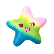 Squishy Toy,Y56 Exquisite Fun Galaxy Star Fish Scented Squishy Toy/Squeeze Toy/Relieve Stress Toy/Gift Toy/Children Amusing Toy(Super Soft Slow Rising)