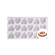 squarex Exquisite Diy Silicone Chocolate Fondant Candy Cake Decorating Sugarcraft Baking Mould