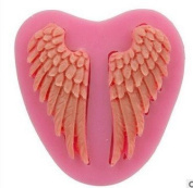 TIREOW Angel Wings Liquid Silicone Moulds For DIY Cake Decorating Tools