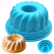 TIREOW Silicone Practical Ring Shaped DIY Baking Mould Tools
