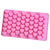 TIREOW Silicone Holes Heart Shaped Mini DIY Baking Cake Pan Tray Mould Tools