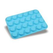 TIREOW Silicone 24 Cavity Mini DIY Baking Cupcake Cake Pan Tray Mould Tools