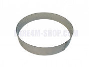 Stainless Steel Circular Cake Ring Ø24 x 5 (H) cm. Professional