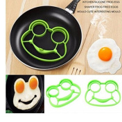Silicone fried egg cartoon animal mould frog - shaped omelette household baking tools