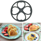 Pancakes Eggs Moulds,Sansee 4 Shapes Non Stick Pancake Pan Flip Perfect Breakfast Maker Egg Omelette Tools