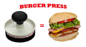Latest Non-Stick Burger Press - Lifetime Replacement Warranty - Best Rated Grilling Accessories - Ultimate Patty Press Grilling Set - Perfect Grill Accessories Or Gifts For Husband, Dad, Men by MisterChef®