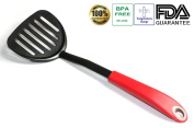 Tenta Kitchen Flexible Nylon Turner Spatula With ABS Handle for Fish/egg/meat/dumpling Frying
