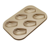 squarex_Exquisite 6 Cups Cake Carbon Steel Nonstick Bakeware Pan Tray Mould