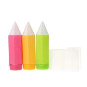 Welim Colourful Plate Pen Cake Pen Cream Pen Chocolate Plate Pen Pastry Decorating Tools Suitable for different nozzles 3pcs 3 kind Colour