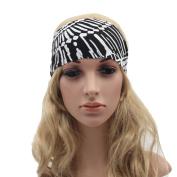 Forfar Wide Sports Yoga Headband Stretch Hairband Elastic Hair Band Accessories Best Gift Boho Turban Fashion Style for Women
