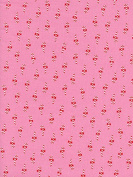 CHRISTMAS FABRIC - Candy Canes Red Pink - CS071 - By 0.5 Metre - By Cotton + Steel - 100% Cotton