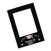 Sharplace Class of 2017 DIY Chalkboard Selfie Frame Photo Booth Prop Graduation Party