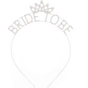 Cdet Headband Fashion Bride To Be Crown Hair Tie Girl Headwear Lady Hairwrap Hair Clip Pin Children Hair Accessories