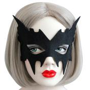 Janly® Retro Halloween Women Cutout Eye Upper Face Masks Sexy Lady Owl Deer Bat Mask Pumpkin Mask for Masquerade Festive Party Fancy Dress Costume Supplies