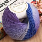 Colourful Soft Cashmere Wool Hand Knitting Crochet Yarn 1 Ball 50g