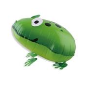 TOOGOO(R) Cute Walking Pet Balloon Animal Air walker Foil Balloon Helium Kids Fun Parties, green frog