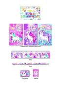 Unicorn 5 Piece stationery Set