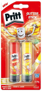 "Pritt 2050203 20 g ""Glitter"" Glue Stick - Yellow/Red"