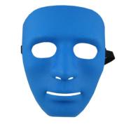 Moresave Halloween Ghost Dance Hip-hop Performances Masks Full Face Plastic Plain Mask Party Dress Masks