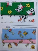 PRESTIGE Animals Flannel Soft Cotton Flannelette Printed Costumes Nightwear Crafts Fabric