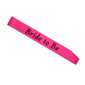 bismarckbeer Bachelorette Party Night Stain Sashes Wedding Party Bridal Showers Sash 1 Pc size Bride To Be