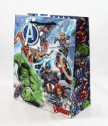 Avengers Large Gift Bag Marvel Comic Kids Happy Birthday Superhero Luxury Party