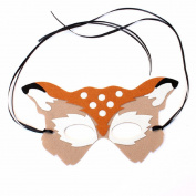 dragonaur Halloween Party Masquerade Prom Half Deer Face Mask Accessories