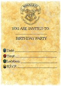 Harry Potter Birthday Party Invites - Hogwarts Letter Theme party decorations / Accessories