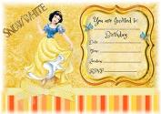 Disney Princess Snow White Birthday Party Invites - Beautiful Landscape Design - Party Supplies / Accessories