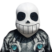 Undertale Sans mask mask made of very high quality latex material with openings to eyes Halloween carnival carnival costume fairing for adults men and women women men creepy creep zombie monster demon horror party