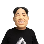 Kim Jong Un Mask mask made of very high quality latex material with openings to eyes Halloween Carnival Costume fairing for adults Men and Women Women Men Creepy Creep Zombie Monster Demon Horror Party