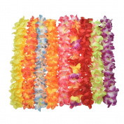 CosCosX 8 Colours Floral Leis for Hawaiian Luau/Birthday/Weddings/Pool Cocktail Party Supplies Tropical Party