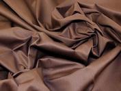 Medium Weight Cotton Drill Dress Fabric Brown - per metre