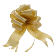 """Wedding Car Kit 5 x Large 50mm Poly Pull Bows & 7 Metres 2"""" Poly Ribbon Choose Your Colour"""