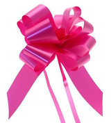"""Wedding Car Kit 3x Large 50mm Poly Pull Bows & 7 Metres 2"""" Poly Ribbon Choose Your Colour"""
