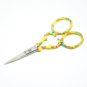 "Quantum Art Stainless Steel Embroidery Scissors Straight 90mm - 3.5"" inch - ESS-03"