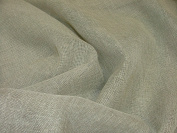 1m Pebble Linen Look Lead Weighted Voile Net Muslin Curtain Fabric - Extra Wide 300cms