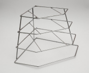 Corner Plate Rack / Kitchen Cupboard Rack / Shelves Storage Unit Organiser Tray Space Save Plates Rack …