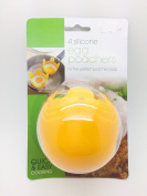 4 X Silicone Egg Poachers For The Perfect Poached Egg - Swan household ®