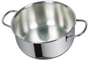 viscio Trading 166320 Casserole, Aluminium, Grey