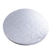 "10"" / 25cm Silver Cake Board x1 Baking Decorating Wedding Tiers"