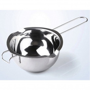 Uminilife Stainless Steel Chocolate Melting Pot Baking Pastry Tools For Melting Butter Cheese and Caramel