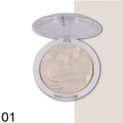 Sixcup 3D Shimmer Highlighter Face Powder Palette Face Base shine Illuminator Compact Makeup Powder