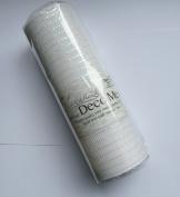 Eleganza No.42 Iridescent Deco Mesh, White, 25 cm x 9.1 m