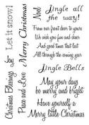 Card-io Clear Stamp Christmas-Sentiments