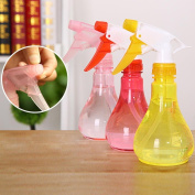 hunpta Empty Spray Bottle Plastic Watering The Flowers Water Spray For Salon Plants