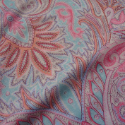 Summer Pastel Fresh Viscose Jersey Fabric Material Craft Textile Art Stretch