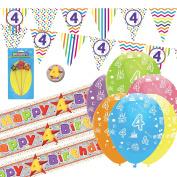 4th Birthday Kit