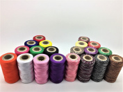 20 x Spools of Sewing Machine Silk Embroidery & Variegated Threads Brother Babylock Janome Singer Pfaff Husqvarna Bernina Machines UK …