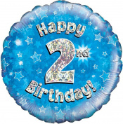 Happy 2nd Birthday Balloon Boys
